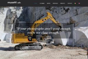 Nuovo sito web Musetti ADV
