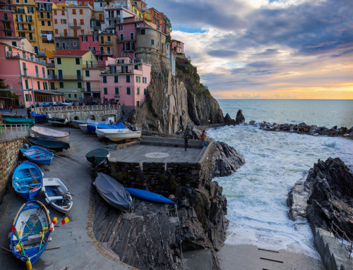 Colors in Manarola
